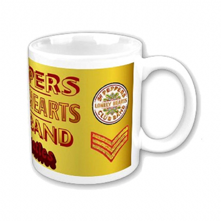 The Beatles Sgt Pepper's Lonely Hearts Club Mug